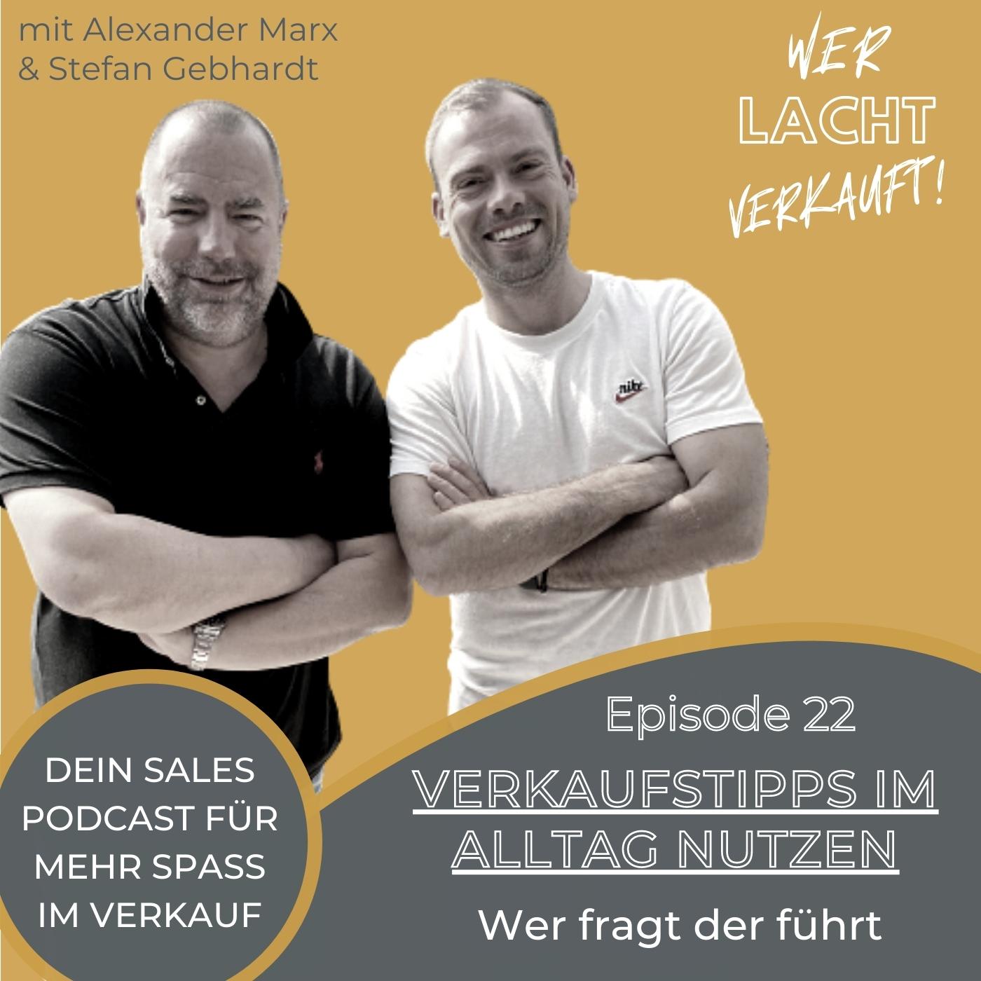 Stefan Gebhardt und Alexander Marx auf dem Cover von Folge 22